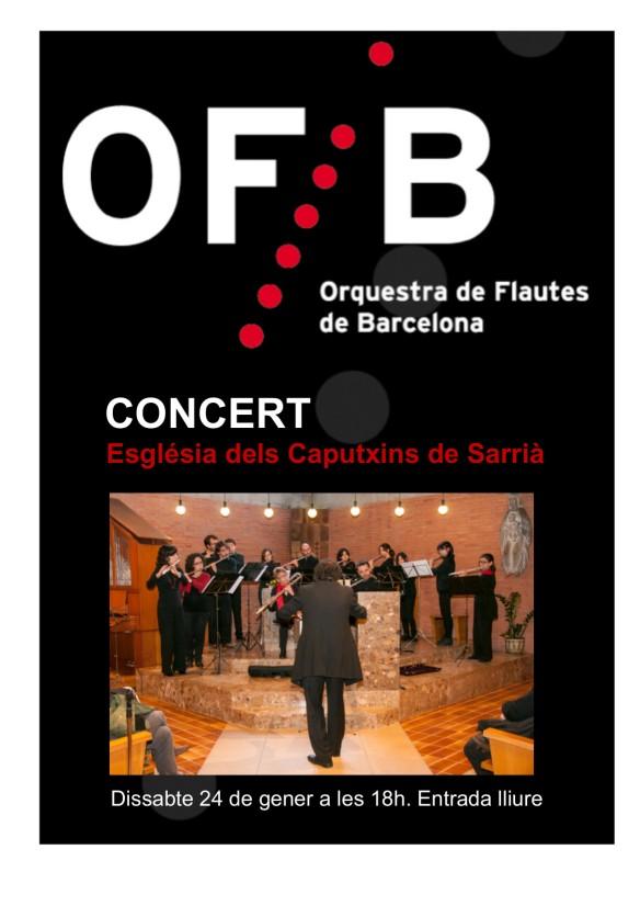 Cartell concert Caputxins 2