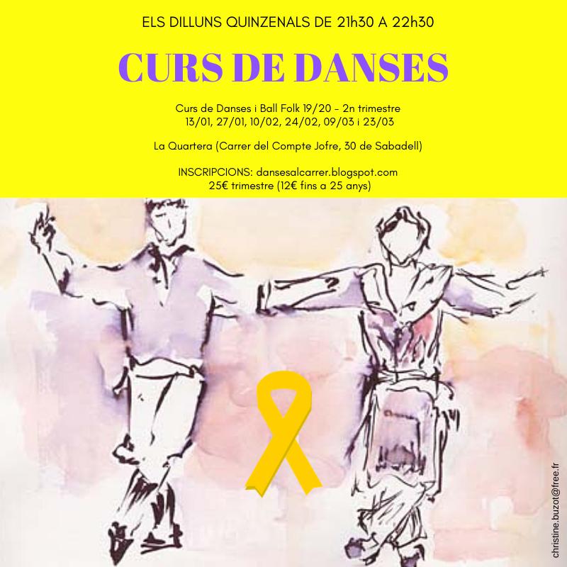 CURS DE DANSES 2n trimestre 19-20
